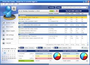 Perfect Diet Tracker Screenshot