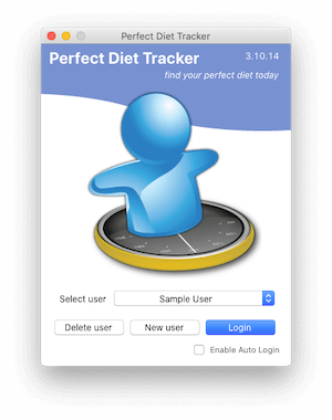Multi user support.  There are no limits to the number of users you can add to the Perfect Diet Tracker.